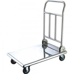 Wózek platformowy, stalowy, składany