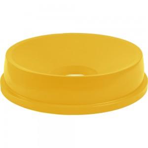 Pokrywa z otworem do pojemnika, Thor, V 120 l, żółta