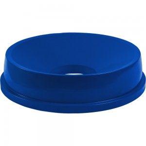 Pokrywa z otworem do pojemnika, Thor, V 120 l, niebieska