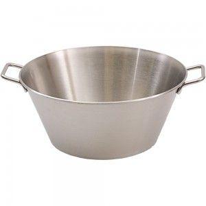 Wanna, miska stalowa z uchwytami, ø 500 mm, V 28 l
