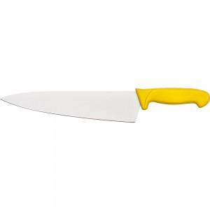 Nóż kucharski, HACCP, żółty, L 260 mm