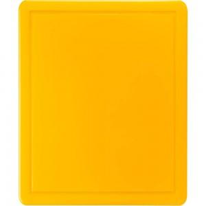 Deska do krojenia HACCP, 600x400x18 mm żółta