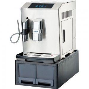 Ekspres automatyczny do kawy z wysuwanymi szufladami, stal nierdzewna