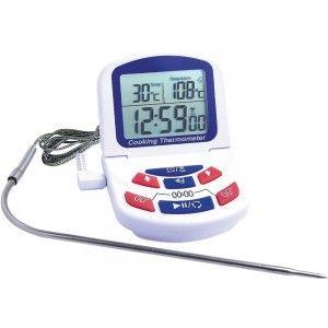 Termometr elektroniczny z sondą na przewodzie