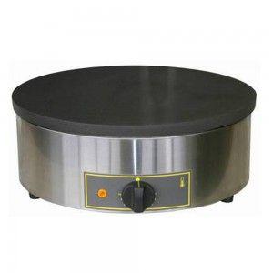 Naleśnikarka, płyta żeliwna, Ø 400 mm, P 3.6 kW