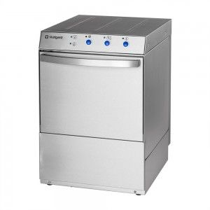 Zmywarko wyparzarka, uniwersalna, dozownik płynu myjącego, pompa zrzutowa, pompa wspomagająca płukanie, P 3.4/4.9 kW, U 230/400 V