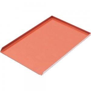 Blacha wypiekowa alumiowa lita 3 ranty pokryta silikonem 1,5 mm (600x400) mm