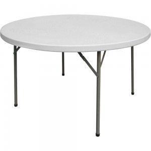 Stół cateringowy składany okrągły fi 1150 h 740 mm