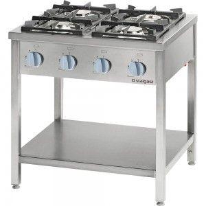 Kuchnia gazowa, 4-palnikowa, 700 mm, 20.5 kW, G20