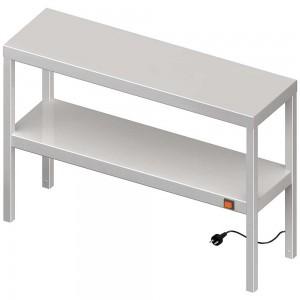 Nadstawka grzewcza na stół podwójna  900x400x700 mm