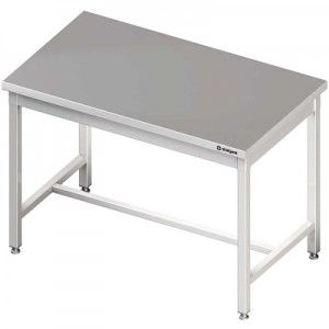 Stół centralny bez półki 800x700x850 mm skręcany