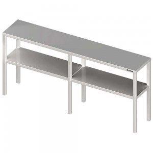 Nadstawka na stół podwójna  1900x400x700 mm