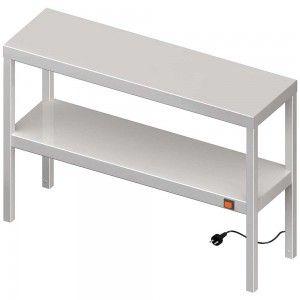 Nadstawka grzewcza na stół podwójna  800x400x700 mm